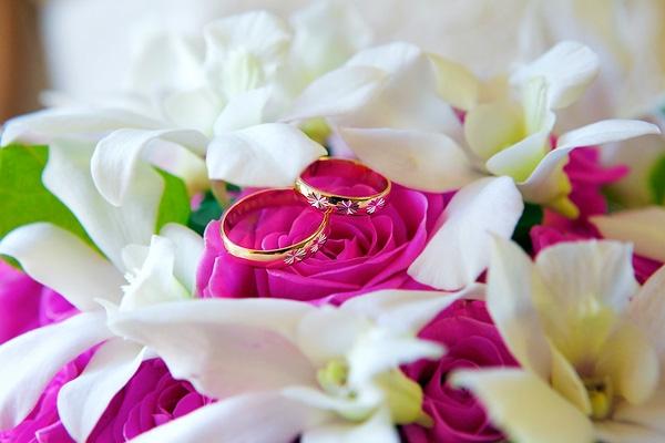 фото свадебного платье на брюнетке с зади